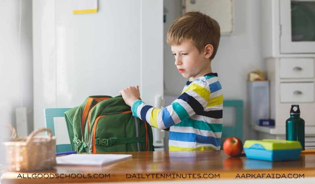 14 Recommendations For Choosing The Right School Bag for Kids